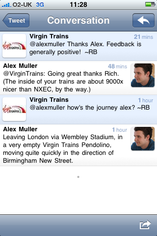 Virgin Trains on Twitter